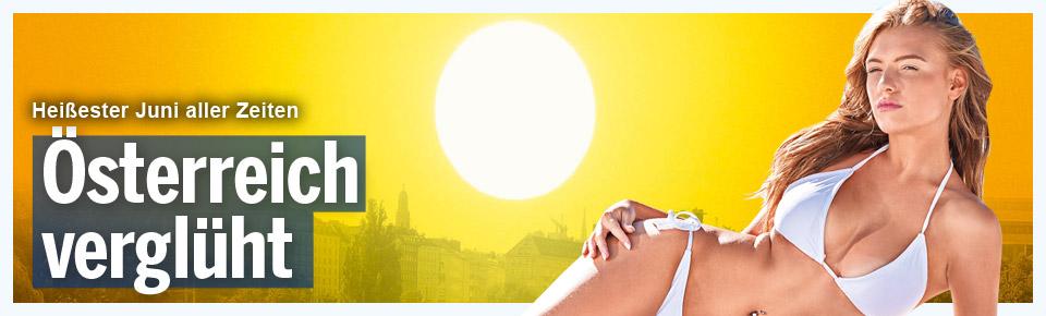 38 Grad: Darum glüht Österreich