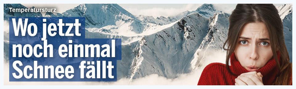 60 cm Schnee: Winter feiert Comeback