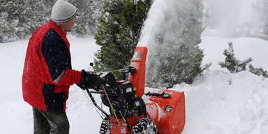 Erneutes Schneechaos im Land