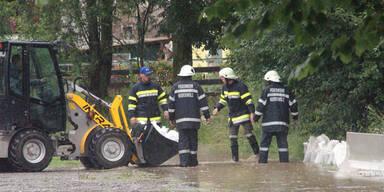 Vermisstenmeldung nach Hochwasser