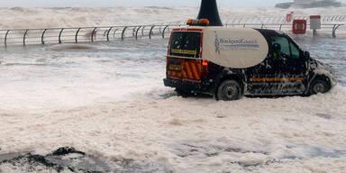 Überschwemmungen in England