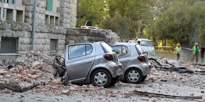 Schwere Beben erschüttern Albanien