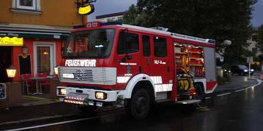 Unwettereinsatz Feuerwehr Althofen