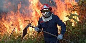 """Macrons Appell zu Amazonas-Inferno: """"Unser Haus brennt"""""""