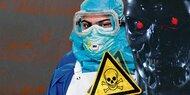 Apokalypse-Report warnt vor Killer-Robotern und Seuchen