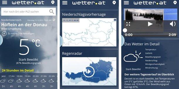 Die neue Wetter-App für Ihr Handy