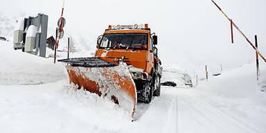 Kaltfront bringt Schnee bis auf 700 Meter