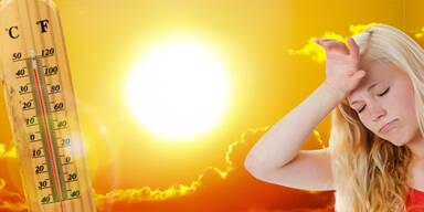 ZAMG spricht Hitzewarnung bis Freitag aus
