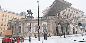 Heute kommt Schnee bis nach Wien