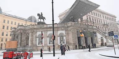 Albertina Wien Schnee