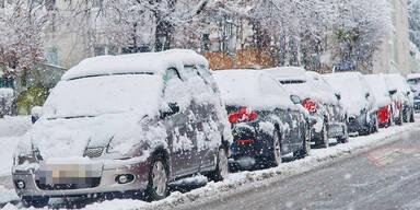 Winter Schnee Wien