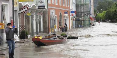 Hochwasser in Aschach