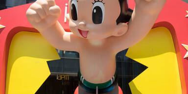 Die Astro Boy-Exhibition lockt tausende Besucher nach Shanghai