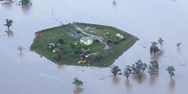 Rekord-Hochwasser in Australien