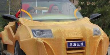Ein Auto aus dem 3D-Drucker sorgt in China für Aufsehen