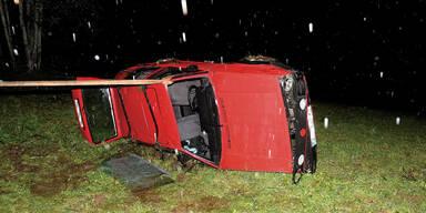 Corona-Party in Auto: 11 Verletzte