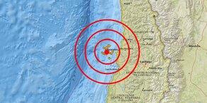 Starkes Erdbeben erschüttert Chile