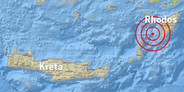 Erdbeben erschütterte griechische Urlaubsinseln