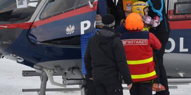 Skifahrer in Tirol gerettet