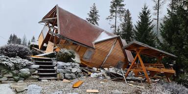 Gas-Explosion: Villacher jagte sich mit Haus in Luft
