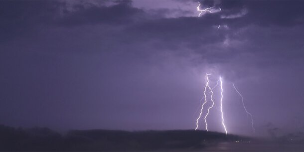 Unwetter-Alarm: Hier kann es heute krachen
