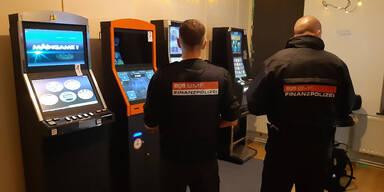 55 Glücksspiel-Automaten in OÖ beschlagnahmt