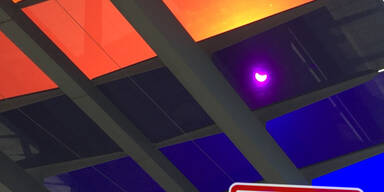 So sehen oe24-Leser die Sonnenfinsternis