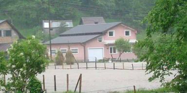 Überflutungen in Bosnien