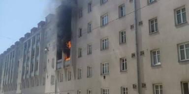 Brand im 16. Wiener Gemeindebezirk