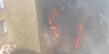 Ein Toter bei Zimmerbrand in Wien