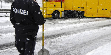 Neuschnee in Österreich