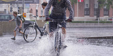 Unwetter in Wien