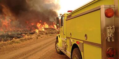 Waldbrand in Kalifornien