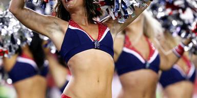 Die NFL geht wieder los und mit ihr kommen die Cheerleader wieder ins Rampenlicht