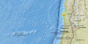 Erdbeben der Stärke 6,3 in Chile