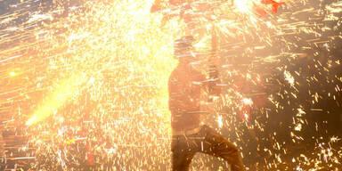 So spektakulär wird in China das Laternenfest gefeiert