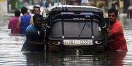 Unwetter-Katastrophe: Sri Lanka bittet um Hilfe