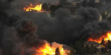 Waldbrände wüten in Colorado