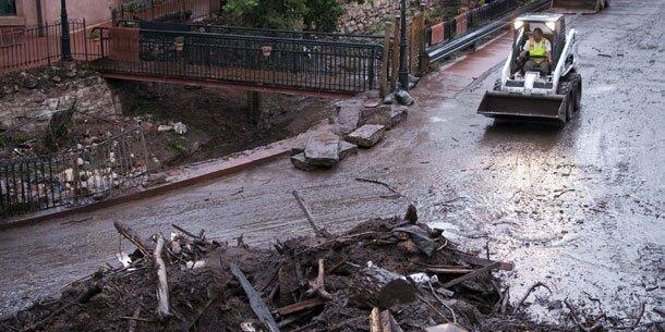 Überschwemmungen in Colorado