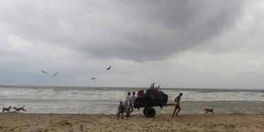Zyklon Mora in Bangladesch