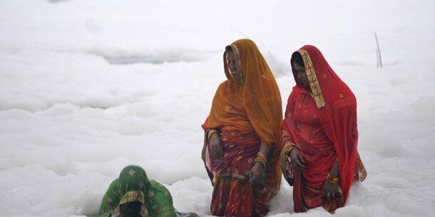 Diese Frauen stehen nicht im Schnee