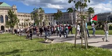 Wieder Anti-Israel-Demo in Wien