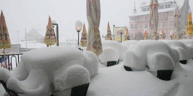 Winter Schnee Mariazell