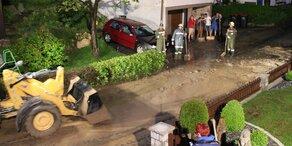 Wieder schwere Unwetter in Oberösterreich