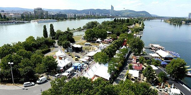 So wird das Wetter am Donauinselfest