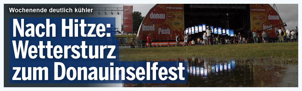 Nach Hitze: Wettersturz zum Donauinselfest