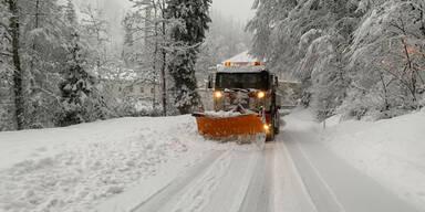 """Stadt Dornbirn bittet wegen Schnee-Chaos: """"Bleiben Sie zu Hause"""""""