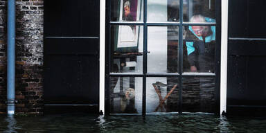 Überschwemmung in Dordrecht (Niederlande)