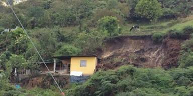 Ecuador Unwetter