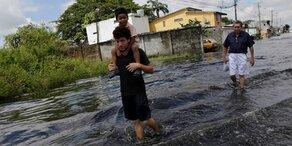Unwetter-Serie in Ecuador hält an: Schon 38 Tote